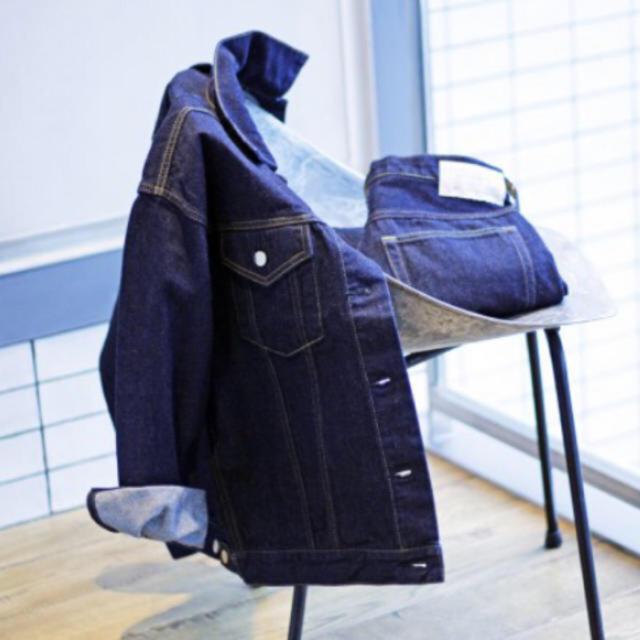 IENA(イエナ)の【新品】IENA ルーズデニムブルゾン レディースのジャケット/アウター(Gジャン/デニムジャケット)の商品写真