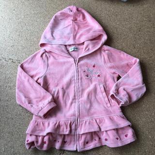 クラウンバンビ(CROWN BANBY)の美品💙女の子パーカー size110(ジャケット/上着)