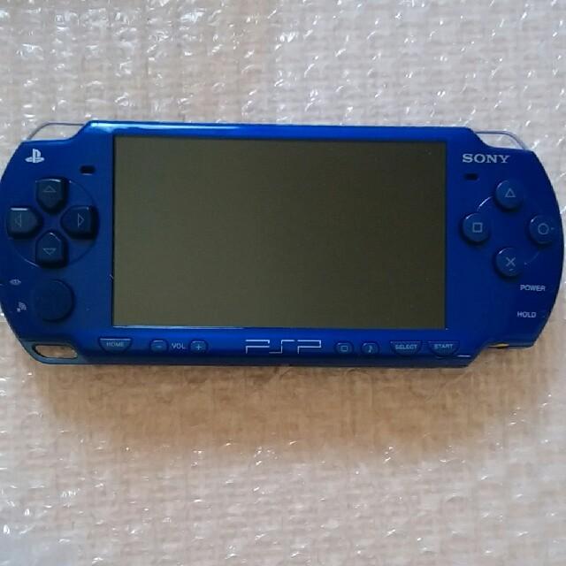 PlayStation Portable(プレイステーションポータブル)のPSP 本体 エンタメ/ホビーのテレビゲーム(携帯用ゲーム本体)の商品写真