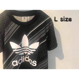 adidas - アディダス オリジナルスTシャツ レディース L 黒 新品