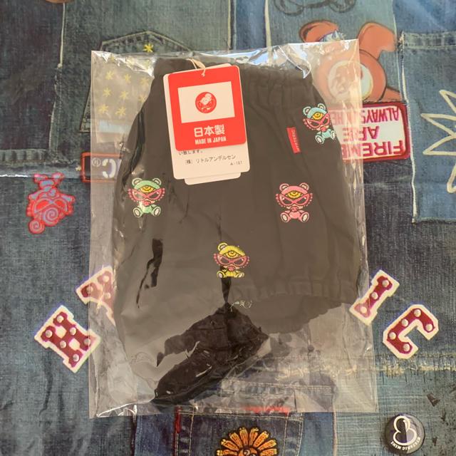 HYSTERIC MINI(ヒステリックミニ)のヒスミニ テディ 刺繍ブルマ 刺繍ダルマ キッズ/ベビー/マタニティのキッズ服 女の子用(90cm~)(その他)の商品写真