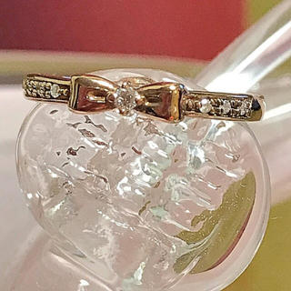 ヨンドシー(4℃)の指輪 4℃ ダイヤモンド(リング(指輪))