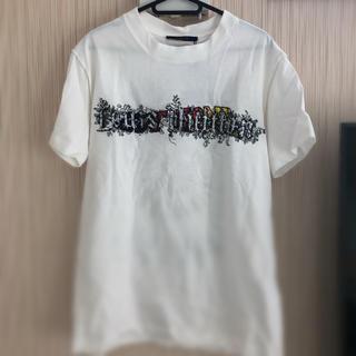 ルイヴィトン(LOUIS VUITTON)のルイヴィトン 刺繍ロゴ Tシャツ(Tシャツ/カットソー(半袖/袖なし))