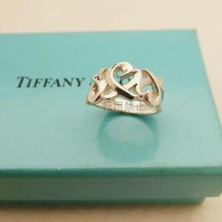 ティファニー(Tiffany & Co.)のティファニー トリプル ラビングハート リング 7号 指輪 TIFFANY(リング(指輪))
