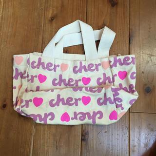 シェル(Cher)のcher ノベルティ(トートバッグ)