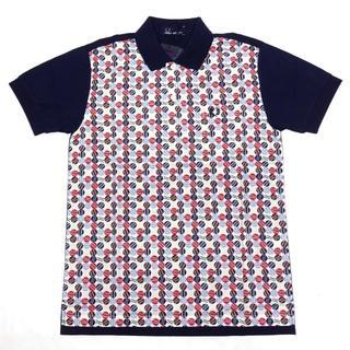 フレッドペリー(FRED PERRY)の新品 フレッドペリー×リバティ ポロシャツ XS ネイビー 紺(ポロシャツ)