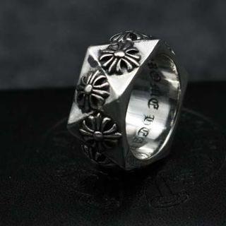 クロムハーツ(Chrome Hearts)のK156クロムハーツクロスリング(リング(指輪))