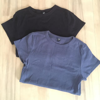 ユニクロ(UNIQLO)のUNIQLO Tシャツ2枚セット(Tシャツ(半袖/袖なし))