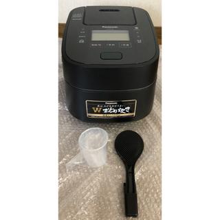 パナソニック(Panasonic)のパナソニック 5.5合 炊飯器 圧力IH式 Wおどり炊き SR-VSX108-K(炊飯器)