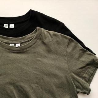 ユニクロ(UNIQLO)のユニクロU クルーネックT 2枚セット(Tシャツ(半袖/袖なし))