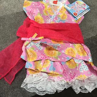 ニシマツヤ(西松屋)の浴衣 110cm ピンク 女の子用(甚平/浴衣)