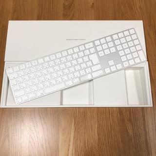アップル(Apple)の★Magic Keyboard(テンキー付き)日本語(JIS)(PC周辺機器)