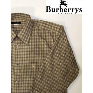 バーバリー(BURBERRY)のBURBERRY オーダーメイド ノバチェック柄 長袖 シャツ(シャツ)