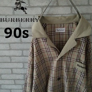 バーバリー(BURBERRY)の【90s】BURBERRY ノバチェック シャツ レアカラー パジャマシャツ(シャツ)