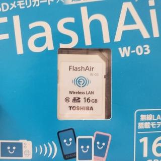 トウシバ(東芝)のTOSHIBA 無線LAN搭載 FlashAir W-03 16GB (その他)