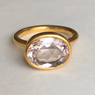モルガナイト k14  ゴールド リング 検索 マリーエレーヌ ジェムパレス(リング(指輪))