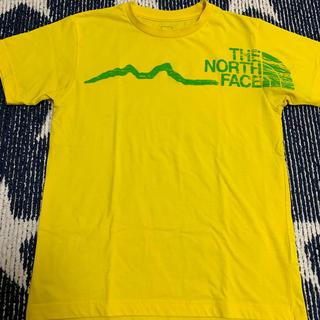 THE NORTH FACE - ノースフェイス Tシャツ Sサイズ イエロー 黄色