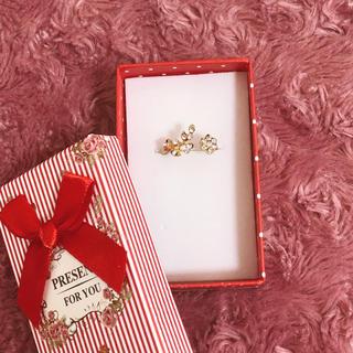 花&木の葉♡リング(リング(指輪))