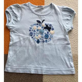 ファミリア(familiar)のファミリア りんご リボン Tシャツ familiar(Tシャツ/カットソー)