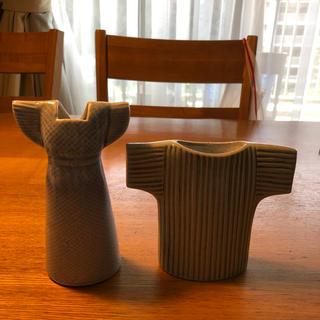 リサラーソン(Lisa Larson)の新品 リサラーソン  陶器 ドレス セーター 花瓶 (花瓶)