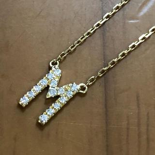 アーカー(AHKAH)のAHKAH ヴィヴィアンクチュール ネックレス ダイヤモンド イニシャル(ネックレス)