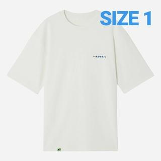 メゾンキツネ(MAISON KITSUNE')のader error×maison kitsune LOGO PLAY Tシャツ(Tシャツ/カットソー(半袖/袖なし))