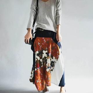 アンティカ 和柄スカート