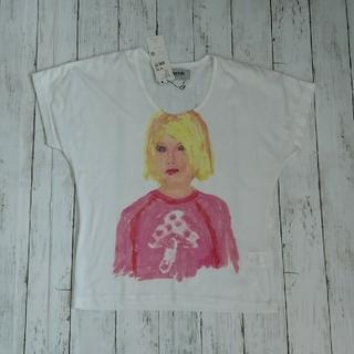 アッシュペーフランス(H.P.FRANCE)のH.P.FRANCE  VAIOUS フェイスT(Tシャツ(半袖/袖なし))
