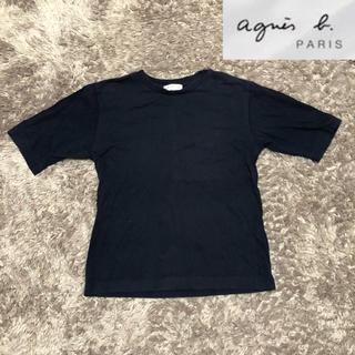 アニエスベー(agnes b.)の【agnes b paris】アニエス・ベー パリス Tシャツ グレー(Tシャツ(半袖/袖なし))