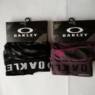 オークリー(Oakley)のBU様専用OAKLEY  ボクサーパンツ L カモフラ柄黒&グレー2枚組新品(ボクサーパンツ)