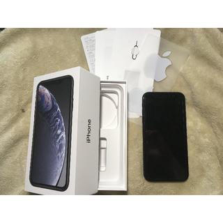 Apple - iPhoneXR 64GB au ブラック 黒 Apple
