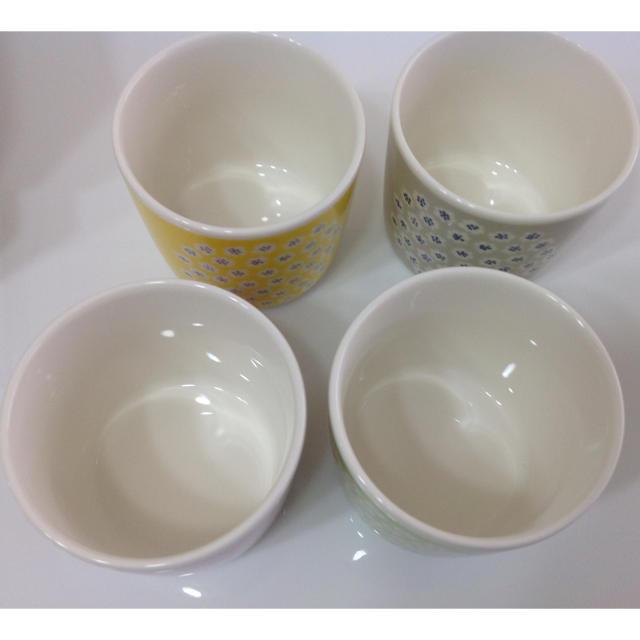 marimekko(マリメッコ)の新品 マリメッコ プケッティ ラテマグ 4色セット インテリア/住まい/日用品のキッチン/食器(グラス/カップ)の商品写真