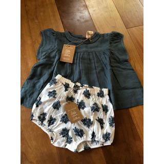 キャラメルベビー&チャイルド(Caramel baby&child )のリトル コットン クローズ little cotton clothes(ブラウス)