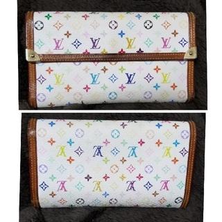ルイヴィトン(LOUIS VUITTON)の売り切り価格【正規品】LouisVuitton★マルチカラー財布(財布)