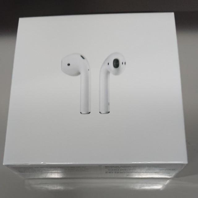 Apple(アップル)のAirpods 第二世代  スマホ/家電/カメラのオーディオ機器(ヘッドフォン/イヤフォン)の商品写真
