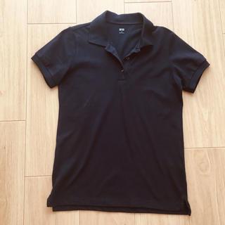 ユニクロ(UNIQLO)のユニクロ ポロシャツ ネイビー(ポロシャツ)