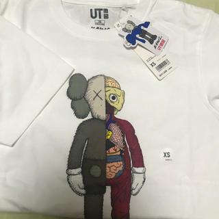 ユニクロ(UNIQLO)のKAWS ユニクロ Tシャツ XS(Tシャツ(半袖/袖なし))