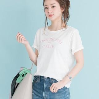 アーバンリサーチ(URBAN RESEARCH)の新品タグ付き♡アーバンリサーチの ヴィンテージ ロゴTシャツ ホワイト(Tシャツ(半袖/袖なし))