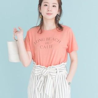 アーバンリサーチ(URBAN RESEARCH)の新品タグ付き♡アーバンリサーチの ヴィンテージ ロゴTシャツ ピンク(Tシャツ(半袖/袖なし))