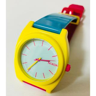 ニクソン(NIXON)の【電池新品】NIXONのTIME TELLER P マルチカラー☆(腕時計)