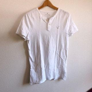 アメリカンイーグル(American Eagle)のAmerican Eagle♡定番刺繍Tシャツ♡メンズS♡アメリカンイーグル♡(Tシャツ/カットソー(半袖/袖なし))