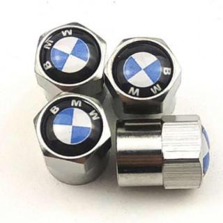 BMW  シルバー1 バルブキャップ 4個セット