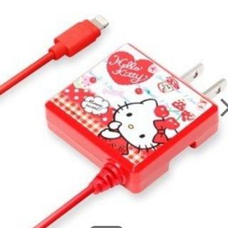 ハローキティ(ハローキティ)のキティ AC充電器 iPhone用(その他)