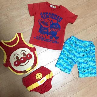 アンパンマン(アンパンマン)のアンパンマン 美品 Tシャツ 短パン コスプレ まとめ セットアップ 80 90(Tシャツ/カットソー)