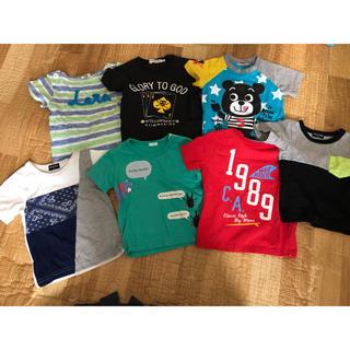 ザショップティーケー(THE SHOP TK)の【90サイズ】男の子 Tシャツ いろいろおまとめ 7点セット(Tシャツ/カットソー)