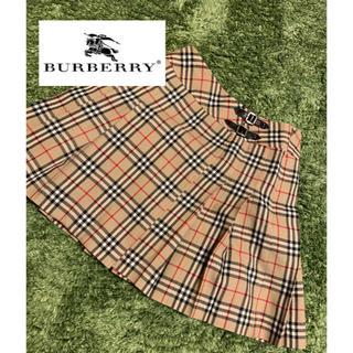 バーバリー(BURBERRY)の【大人気!】BURBERRY バーバリー ノバチェック スカート(ひざ丈スカート)