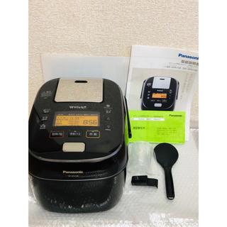パナソニック(Panasonic)の【メーカー保証1年付】パナソニック 5.5合 炊飯器 圧力IH式 Wおどり炊き(炊飯器)