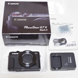 Canon - 保証付き キヤノン PowerShot G7 X Mark II