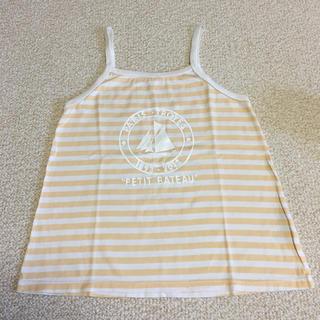 プチバトー(PETIT BATEAU)のプチバトー キャミシャツ 10歳 petit bateau(Tシャツ/カットソー)