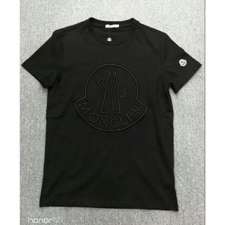 MONCLER - MONCLER メンズTシャツ 半袖 ロゴ刺繍 カジュアル